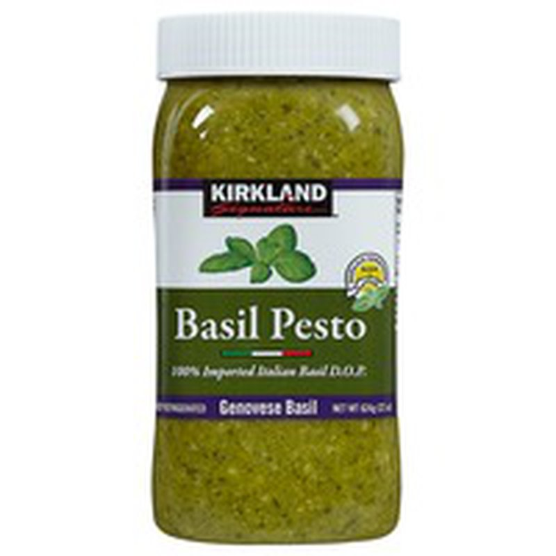 Kirkland Signature Italian Basil Pesto, 22 oz