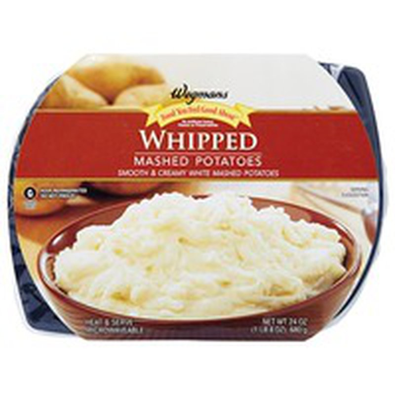 Wegmans Food You Feel Good About Whipped Mashed Potatoes