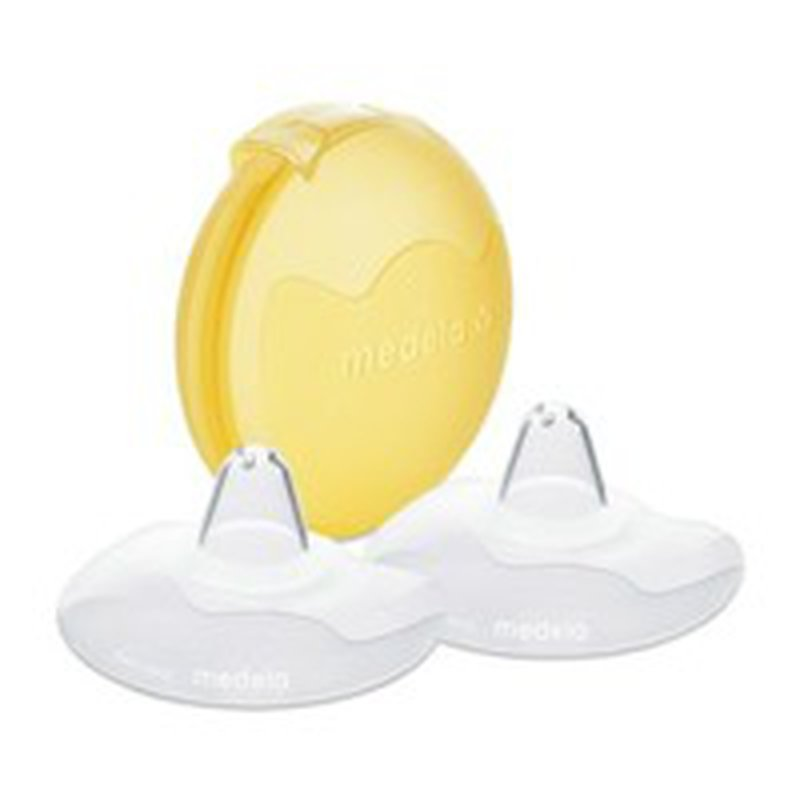 Medela 20-Millimetre Contact Nipple Shields With Carrying Case