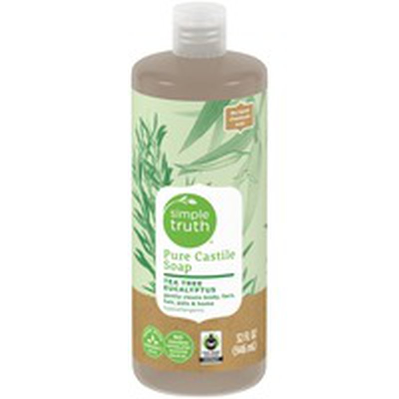 Simple Truth Tea Tree & Eucalyptus Pure Castile Liquid Soap