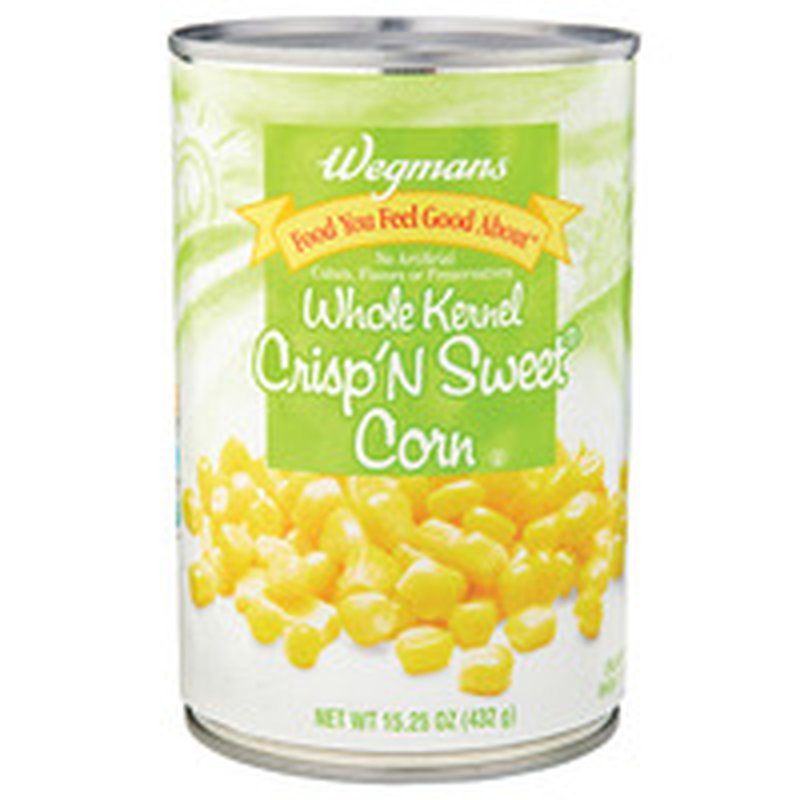 Wegmans Food You Feel Good About Whole Kernel Crisp'N Sweet Corn