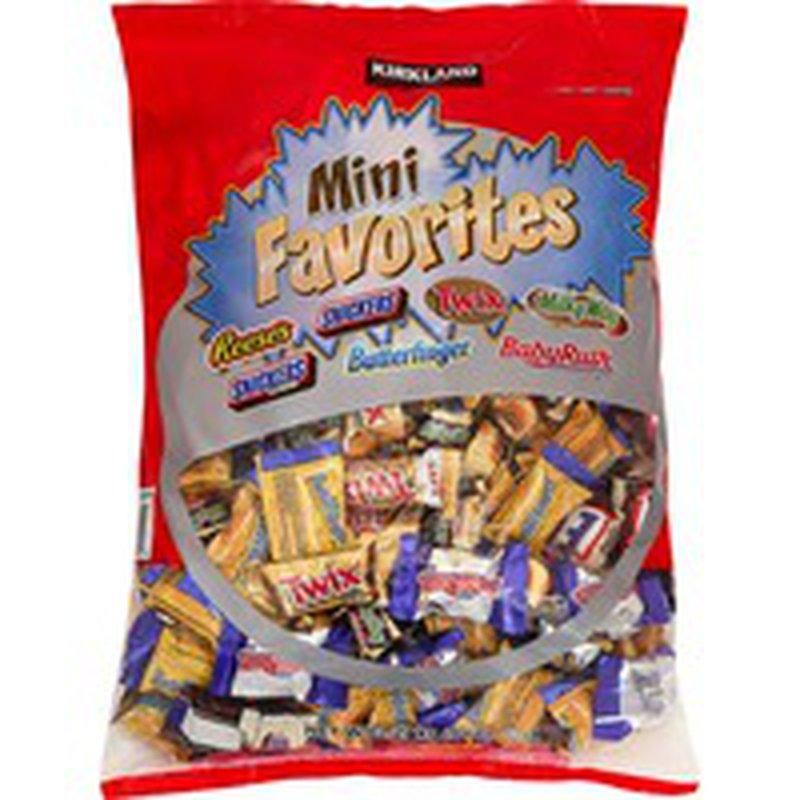 Kirkland Signature Mini Chocolate Variety, 5 lbs