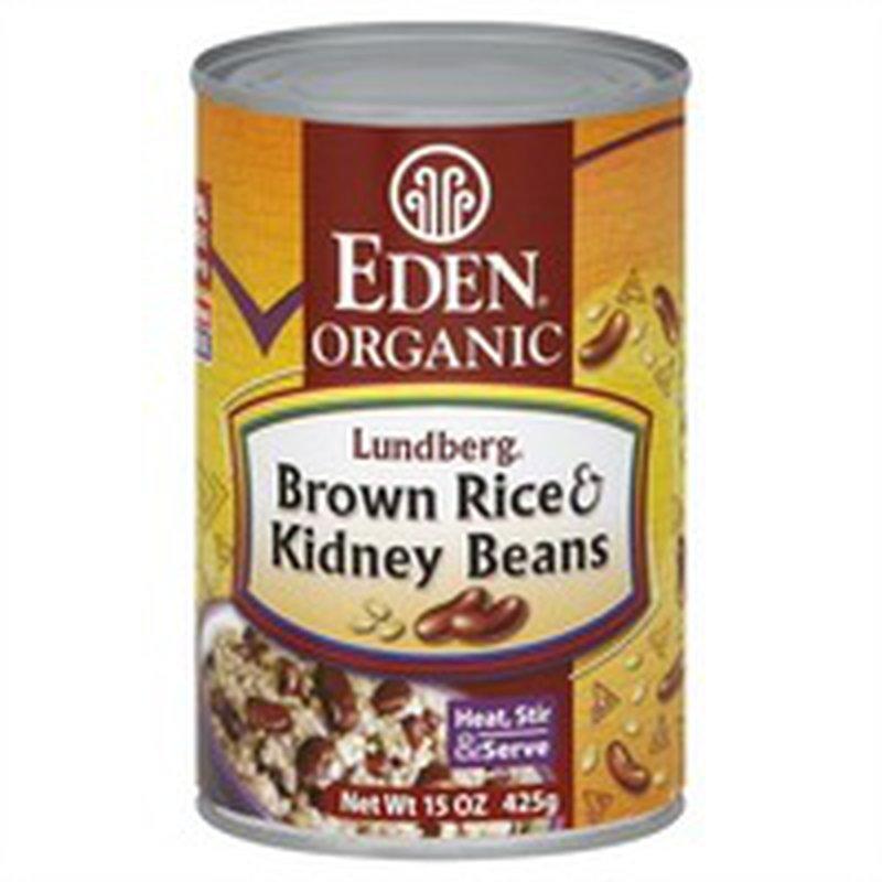 Eden Foods Brown Rice & Kidney Beans