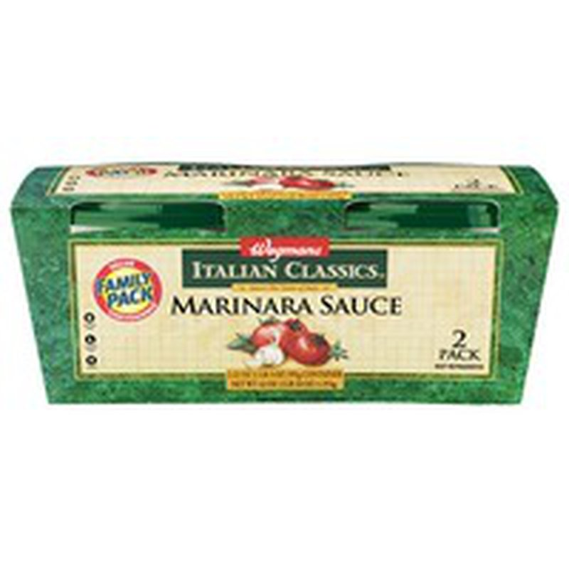 Wegmans Italian Classics Marinara Sauce, FAMILY PACK
