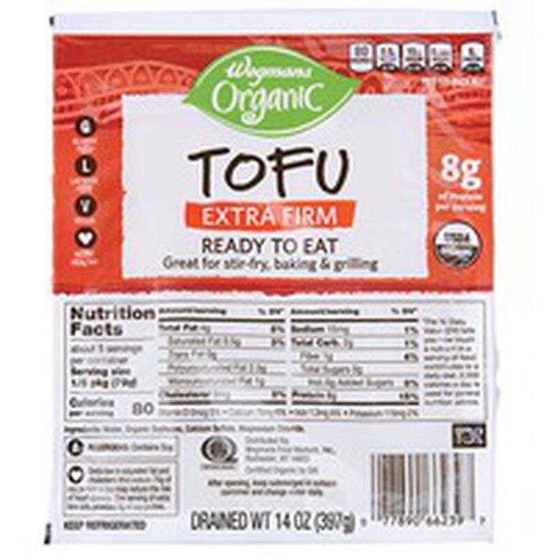 Wegmans Organic Extra-Firm Tofu