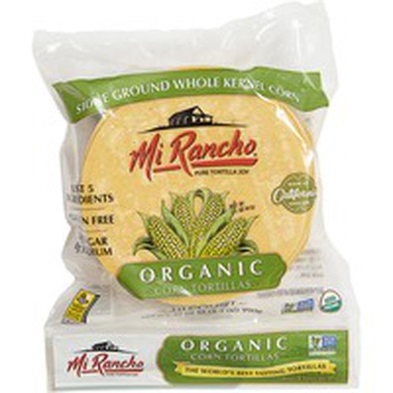 Mi Rancho Yellow Organic Corn Tortillas