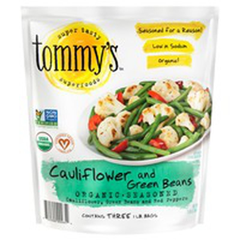 Tommy's Superfoods Organic Cauliflower & Green Beans