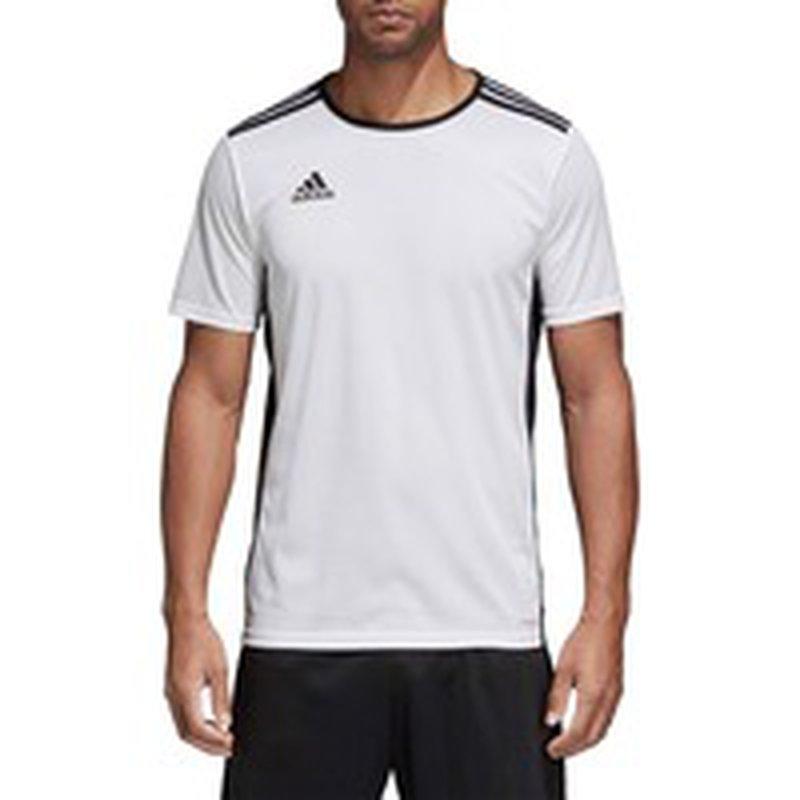 adidas Men's Entrada 18 Soccer Jersey - XL - White (XL (extra ...