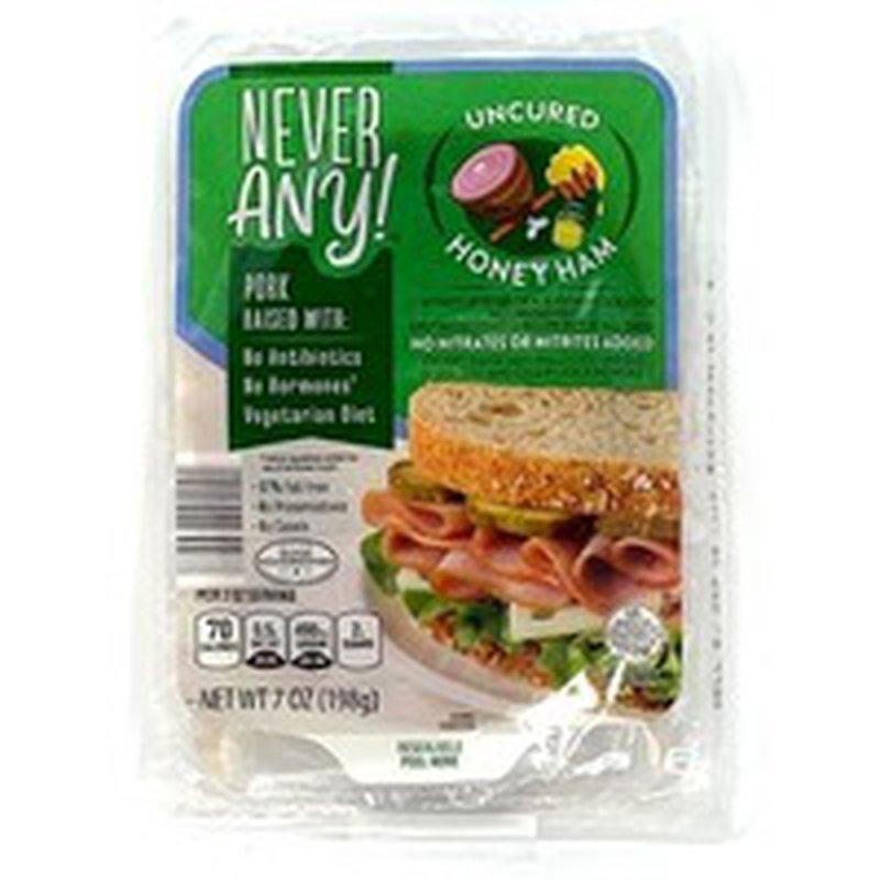 Never Any! Antibiotic Free Honey Ham