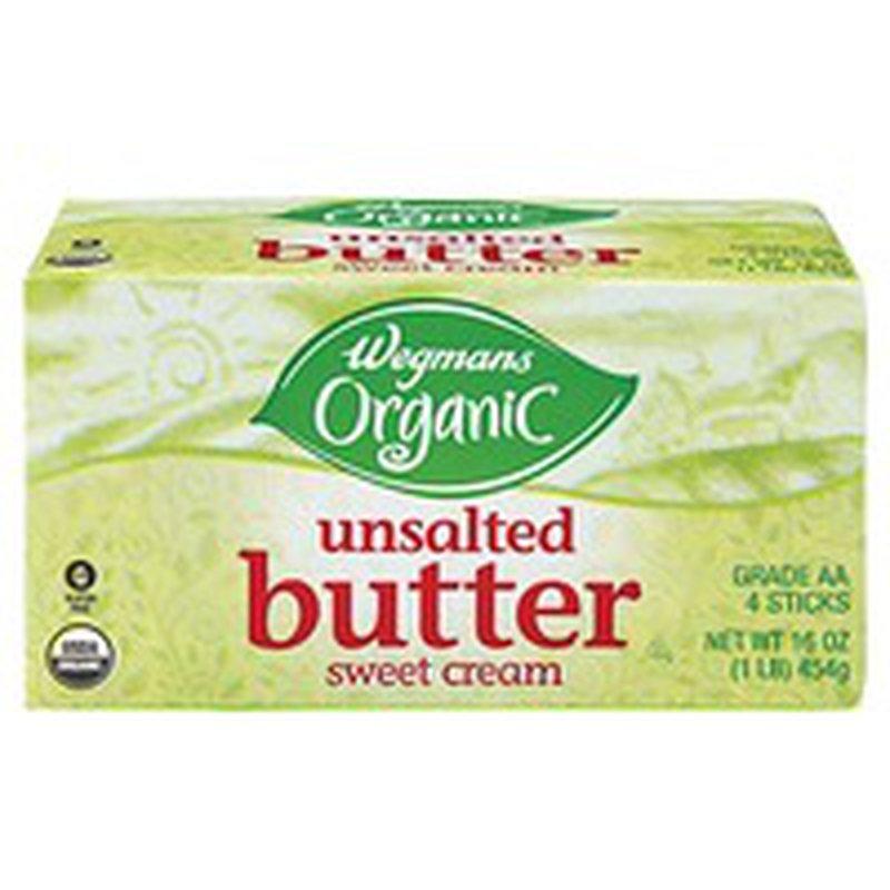 Wegmans Organic Unsalted Butter Sweet Cream