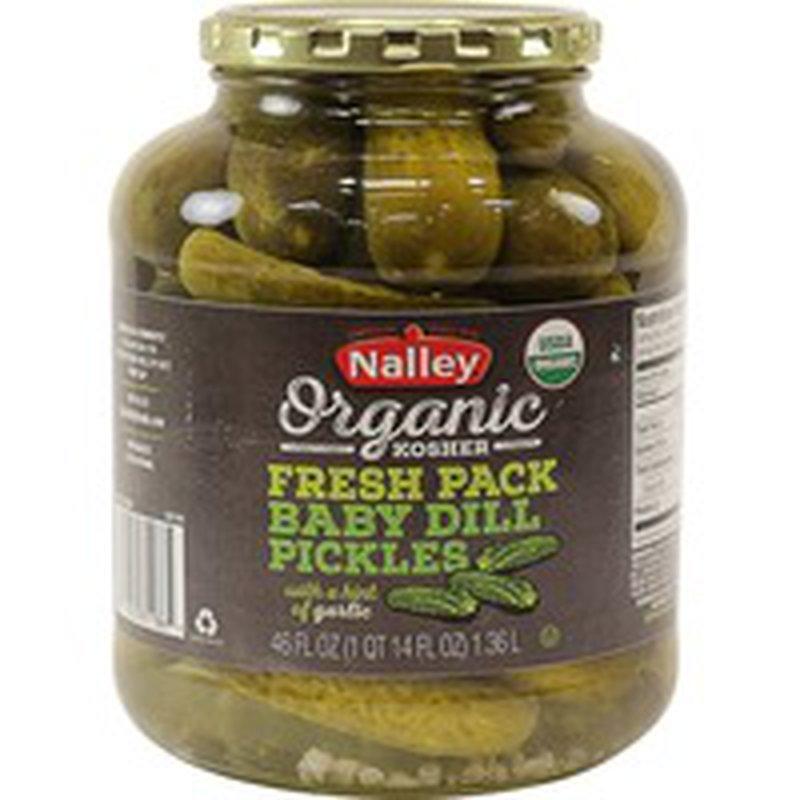 Organic Bay Valley Kosher Baby Dill Pickles
