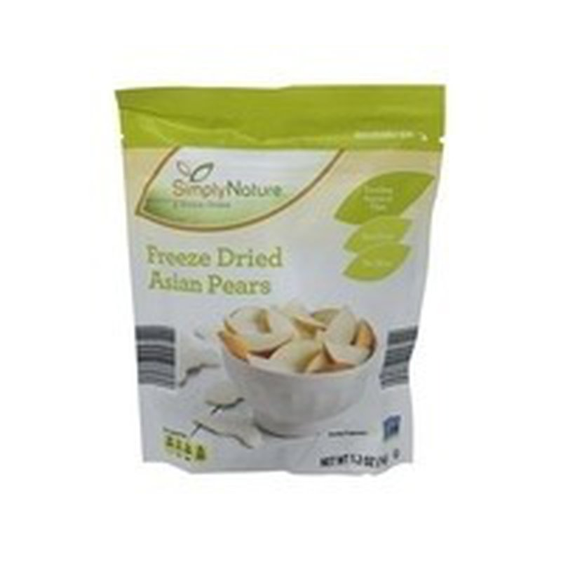 Simply Nature Freeze Dried Asian Pears