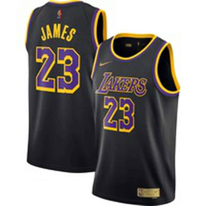 Nike Men's Los Angeles Lakers 2021 Earned Edition Lebron James Dri ...