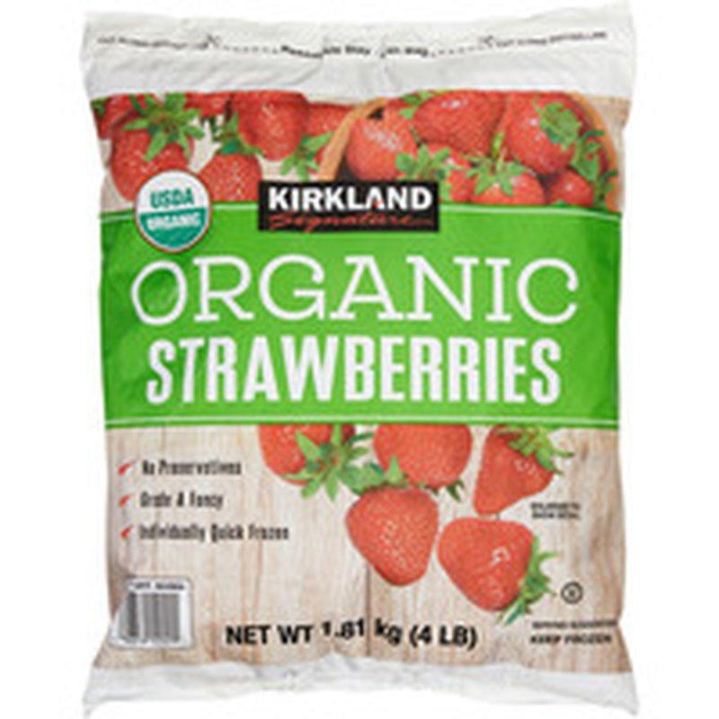 Kirkland Signature Organic Strawberries, 4 lb