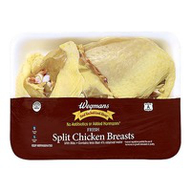 Wegmans Food You Feel Good About Split Chicken Breasts