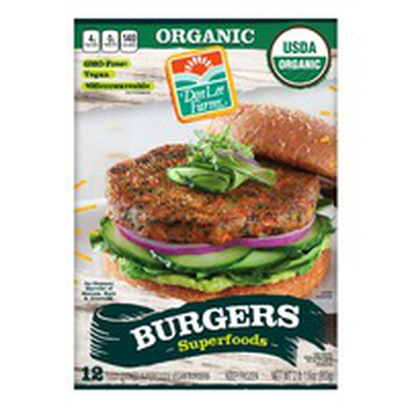 Don Lee Farms Organic Veggie Patty