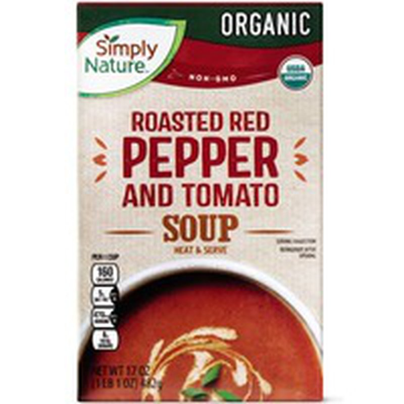 Simply Nature Organic Red Pepper & Tomato Soup