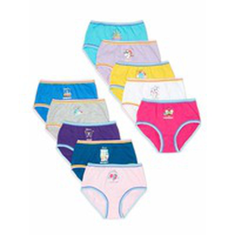 Girls in panties plus Wonder Nation Size 4 16 Girls Plus 100 Cotton Brief Panties Each Instacart