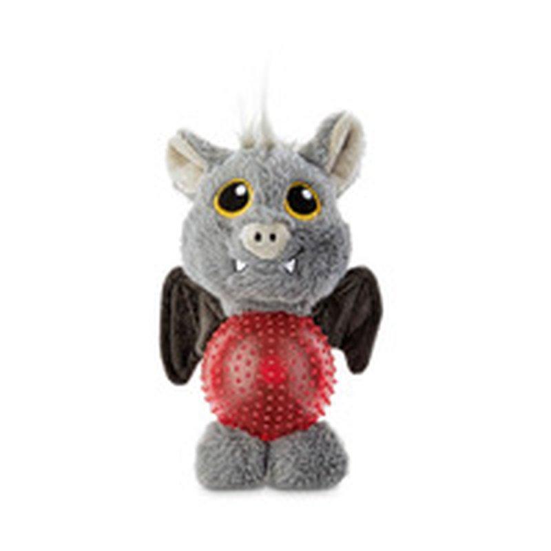 "6"" Halloween Bat LED Belly Dog Toy"