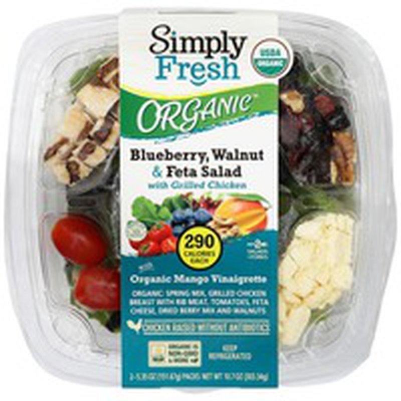 Simply Fresh Antibiotic Free Blueberry Walnut Feta Chicken Salad