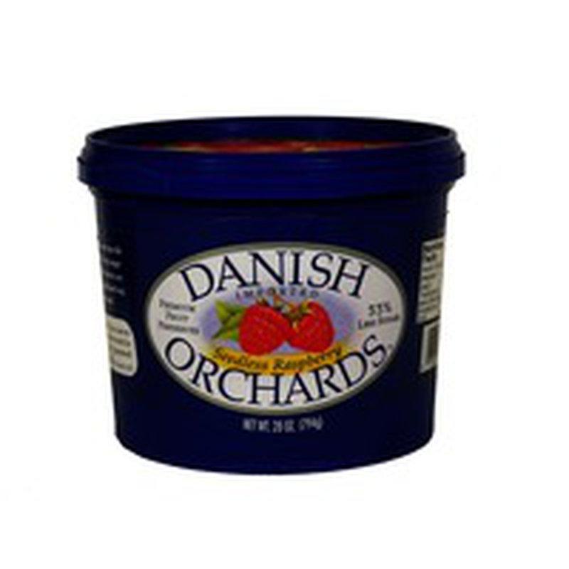 Danish Orchards Seedless Raspberry Preserves
