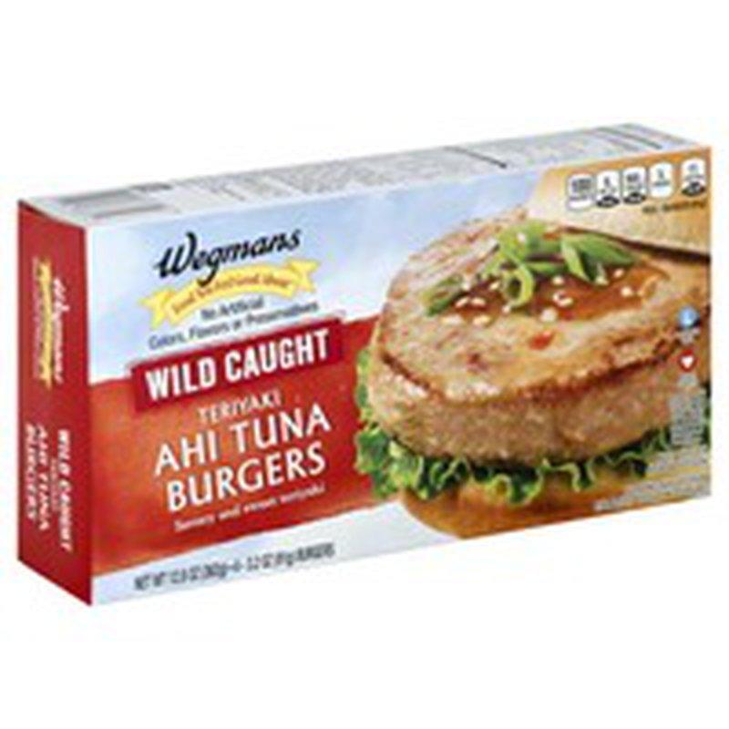 Wegmans Food You Feel Good About Wild Caught Teriyaki Ahi Tuna Burgers