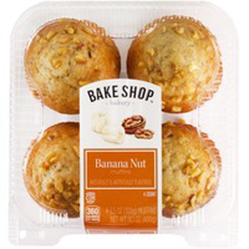 Bake Shop Banana Nut Muffins