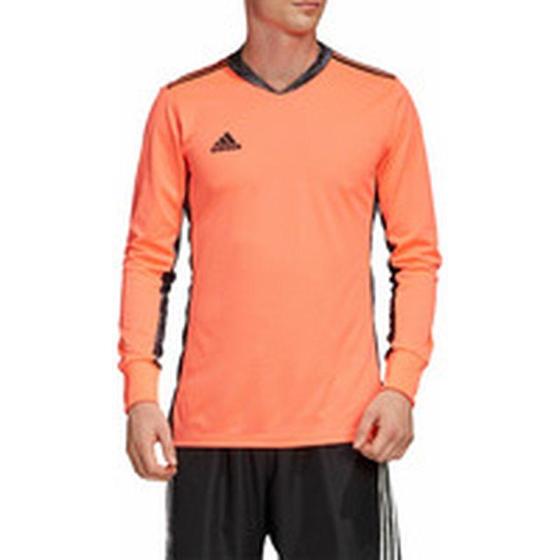 adidas Adult AdiPro Long Sleeve Goalkeeper Jersey - Coral & Black ...