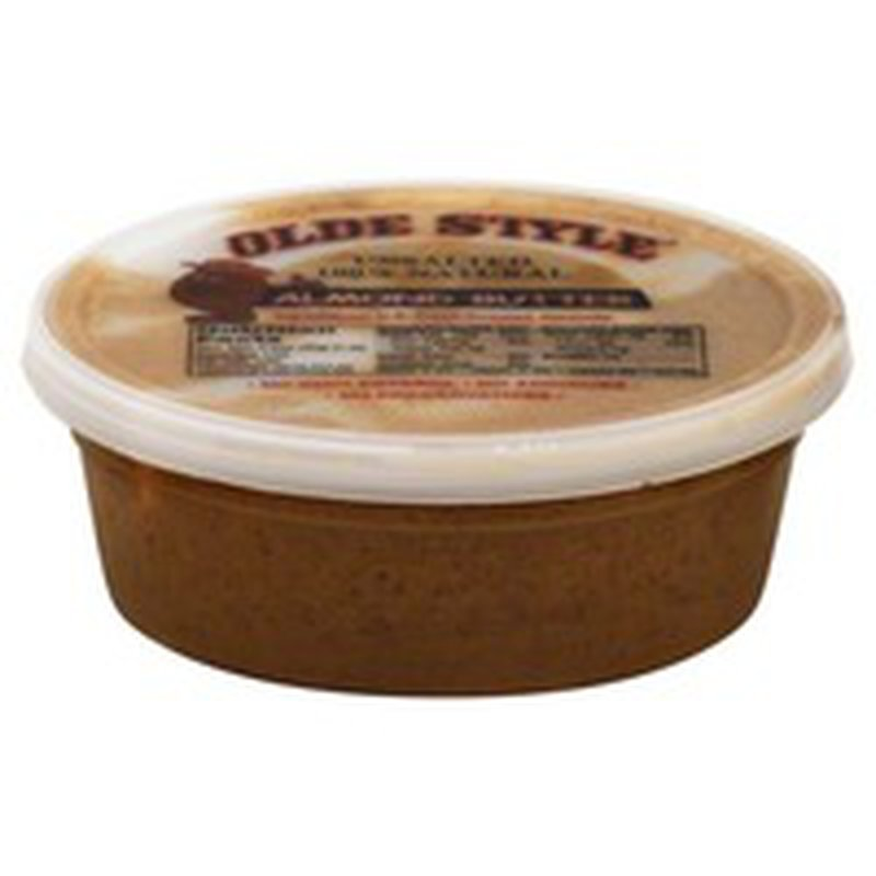 Nature's Marketplace Unsalted 100% Natural Almond Butter