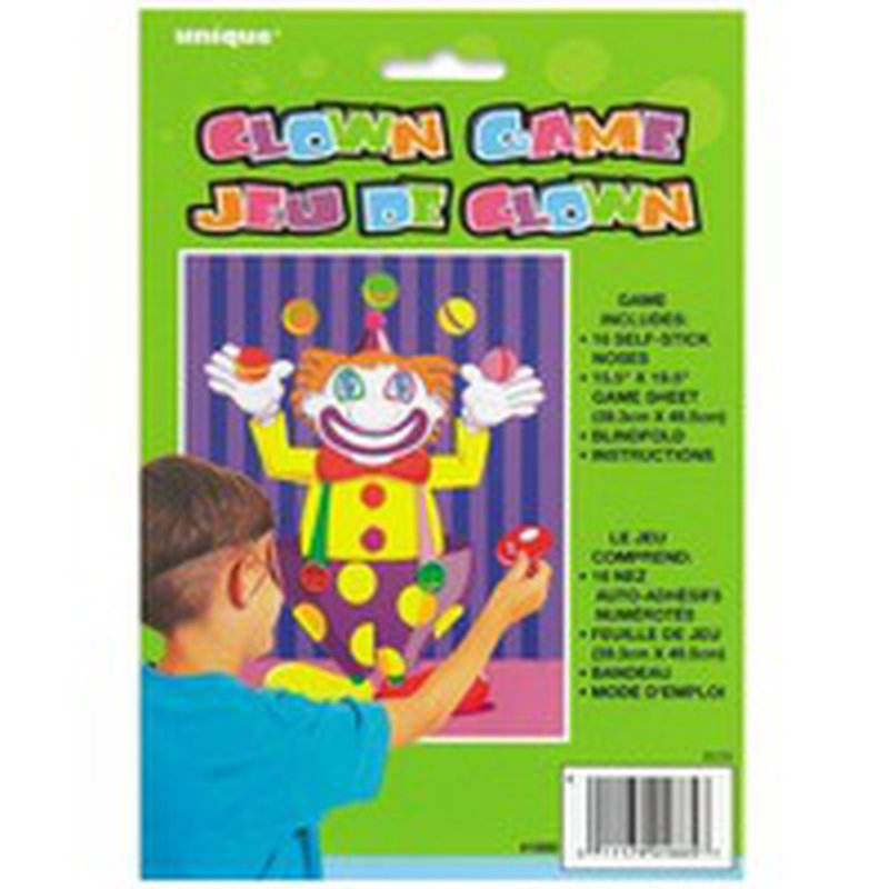 Unique Stick The Nose On The Clown Party Game