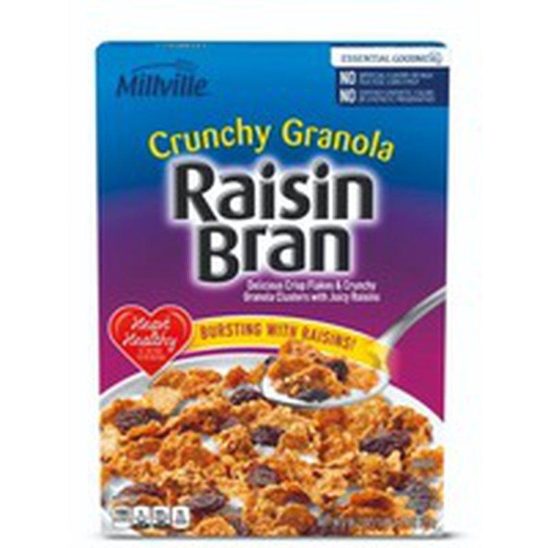 Millville Crunchy Granola Raisin Bran