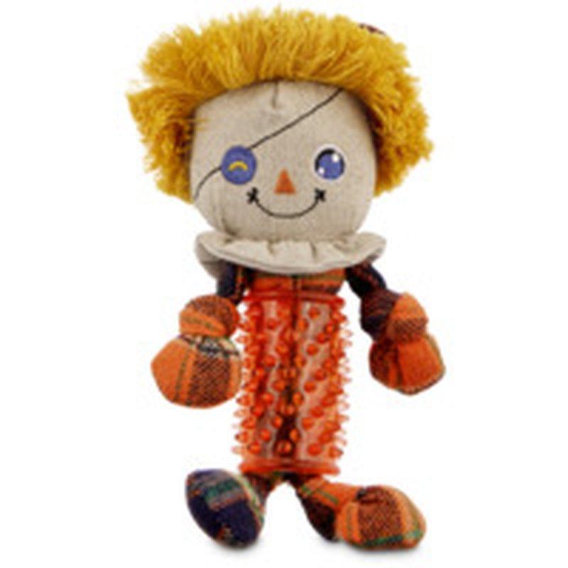 Small Halloween Scarecrow Trp Dog Toy