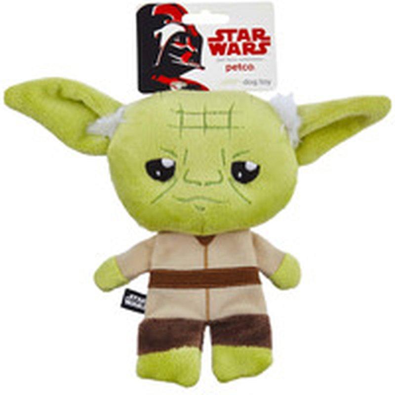 Star Wars Small Yoda Flattie Dog Toy