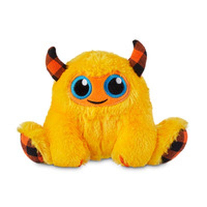 "6"" Halloween Monster Plush Dog Toy"