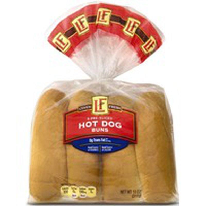 L'oven Fresh Hot Dog Buns