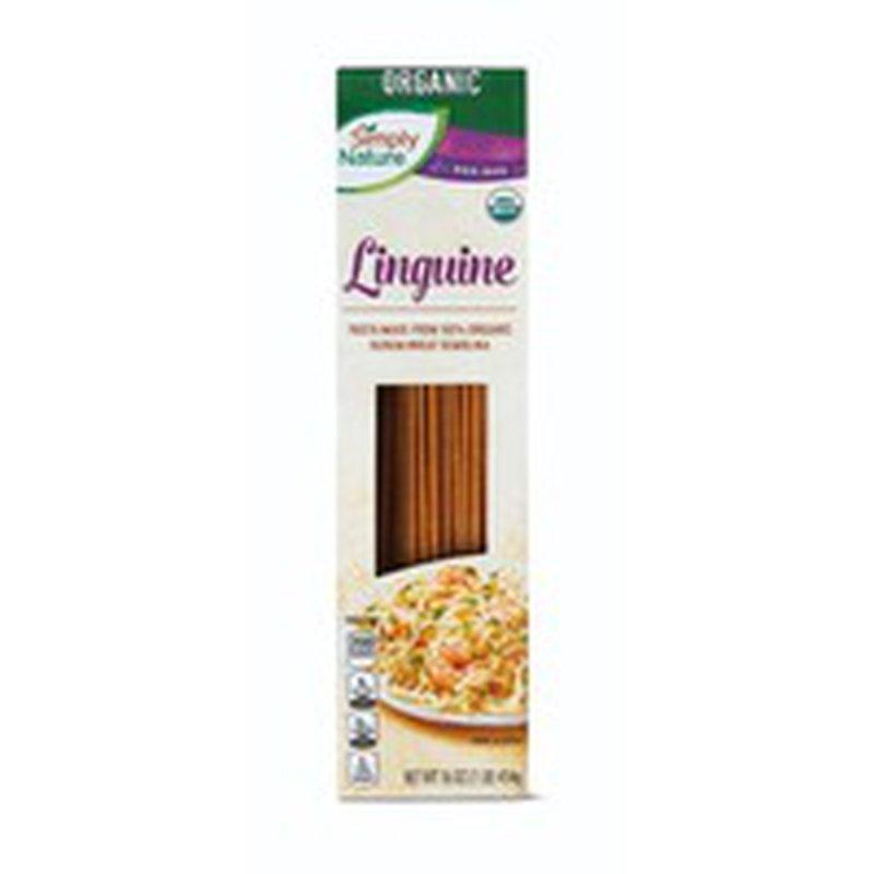 Simply Nature Linguine Pasta Made From 100% Organic Durum Wheat Semolina