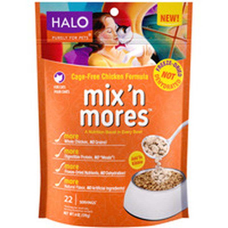 Halo Freeze-Dried kiblets Chicken Cat Food Topper