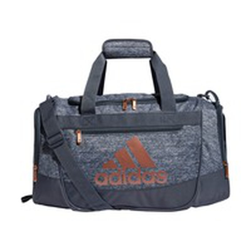 adidas Defender III Small Duffle Bag - Jersey Onix/Rose Gold (each ...