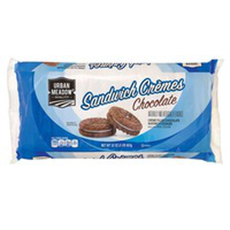 Urban Meadow Chocolate Creme Sandwich Cookies