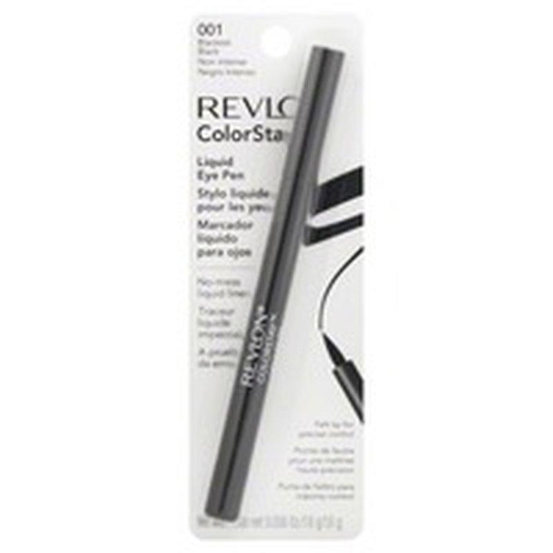 Revlon Liquid Eye Pen, 001 Blackest Black