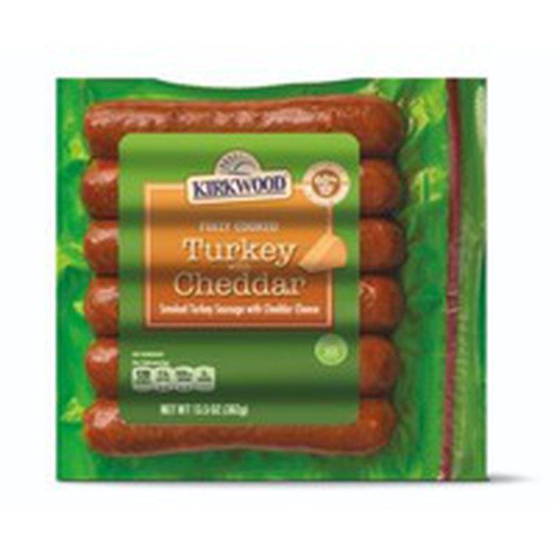 Kirkwood Turkey Cheddar Cheese Sausage
