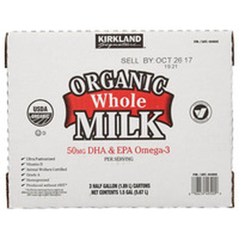Kirkland Signature Organic Whole Milk