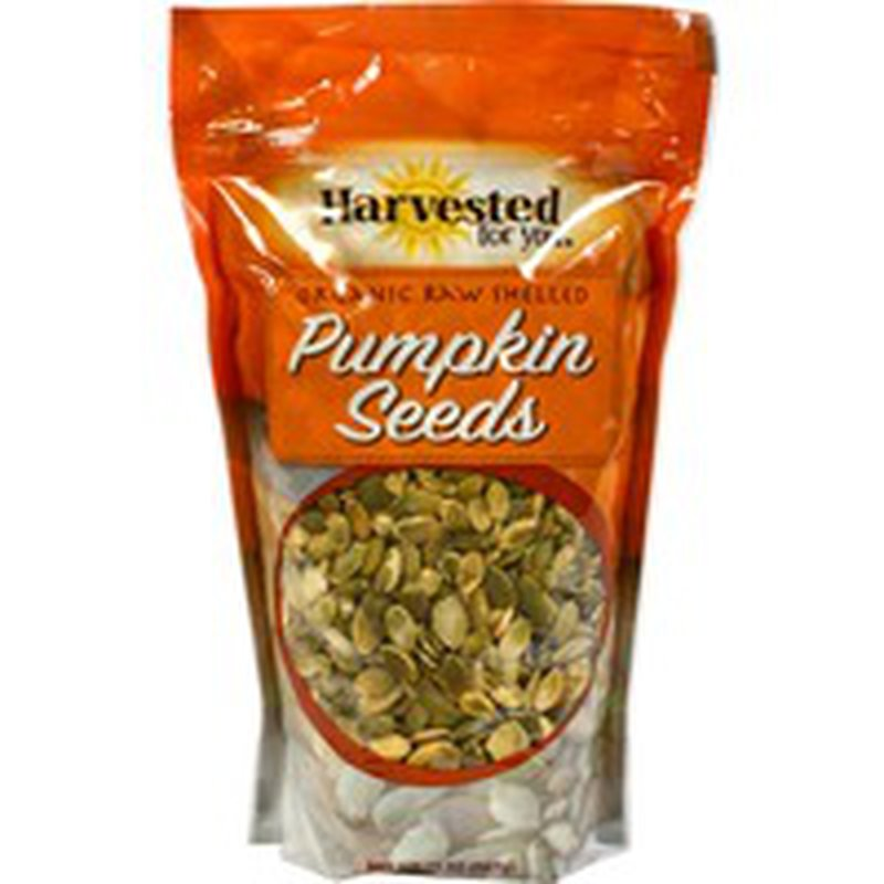 Harvested For You Organic Raw Shelled Pumpkin Seeds
