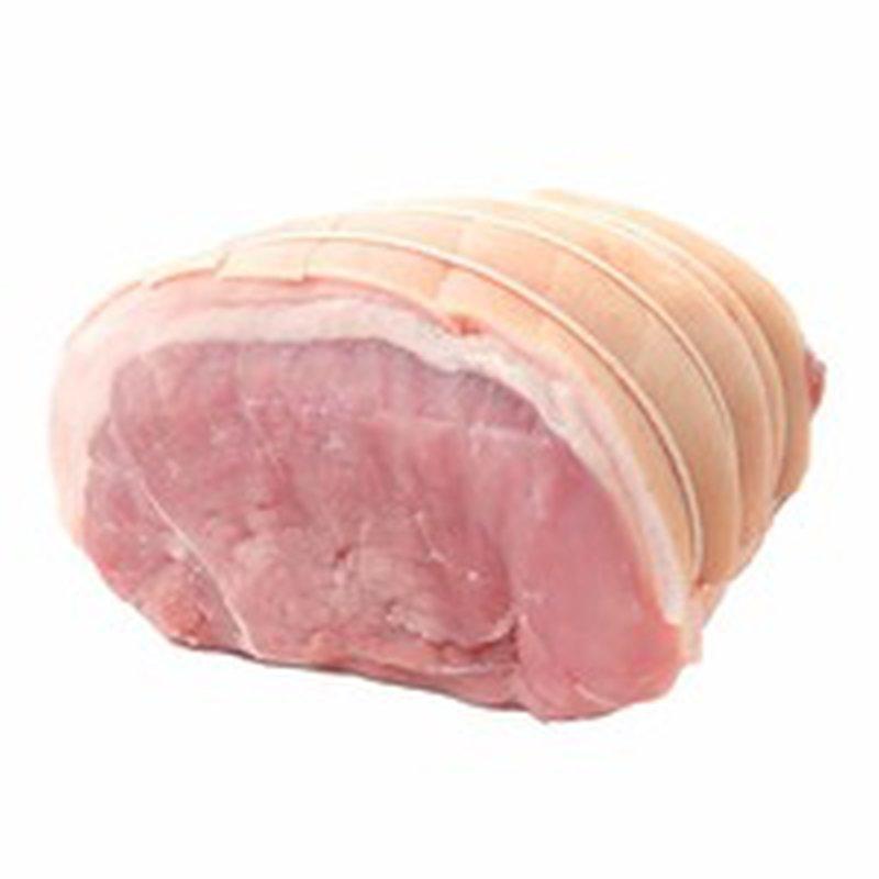 * Raw Boneless Pork Ham