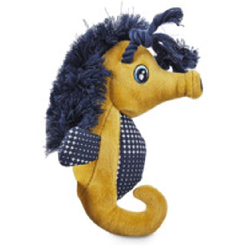 Leaps & Bounds Small Seahorse Dog Toy