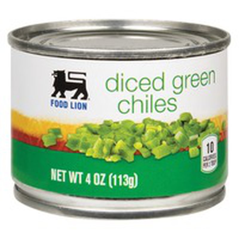 Food Lion Diced Green Chiles