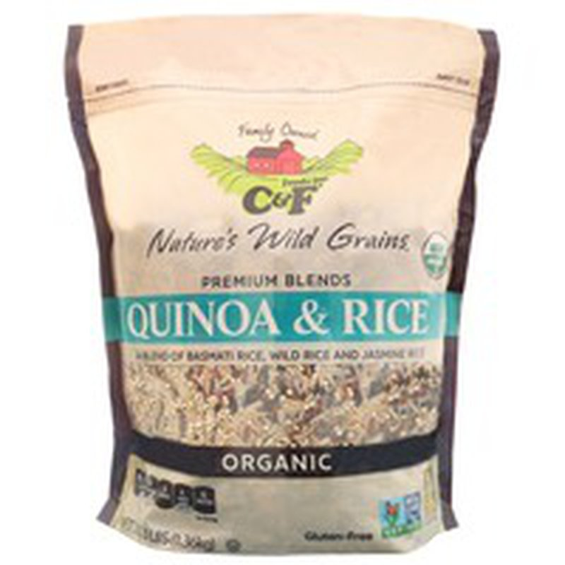 C&F Organic Quinoa & Rice Blend