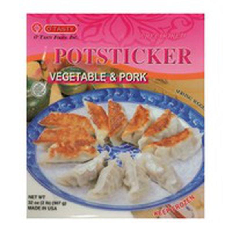 O'Tasty Pork & Vegetable Dumplings 30 Ct