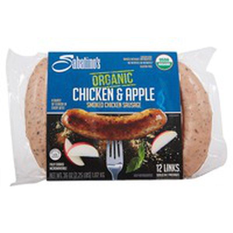 Sabatino Organic Chicken & Apple Sausage