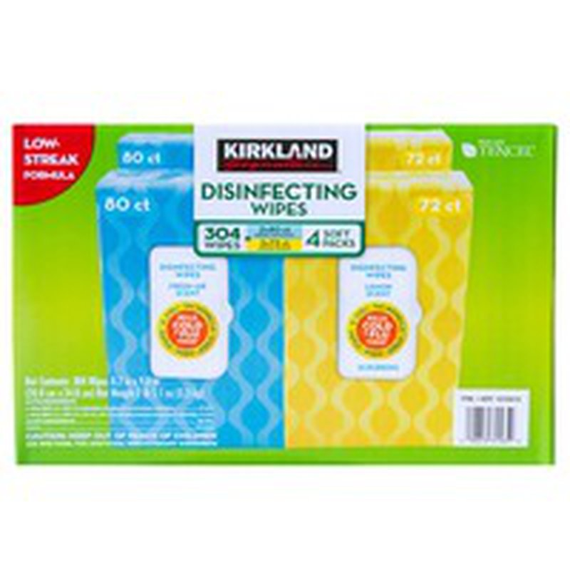 Kirkland Signature Disinfecting Wipes